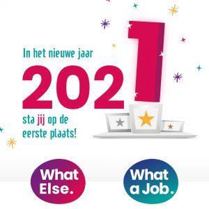 Team What Else. Nieuwjaar 2021