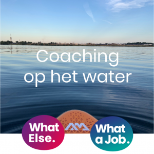 Coaching op het water bij Team What Else.